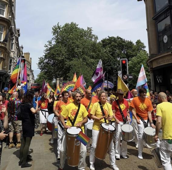 Pride parade Oxford